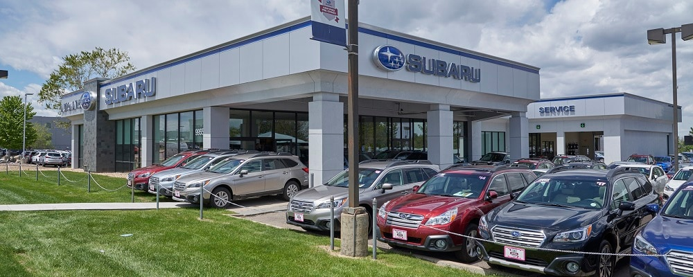 Exterior Photo of AutoNation Subaru Arapahoe