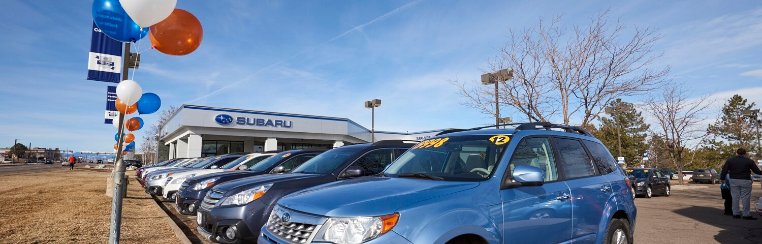 Auto Nation Subaru >> Subaru Dealer Near Lakewood Autonation Subaru Arapahoe