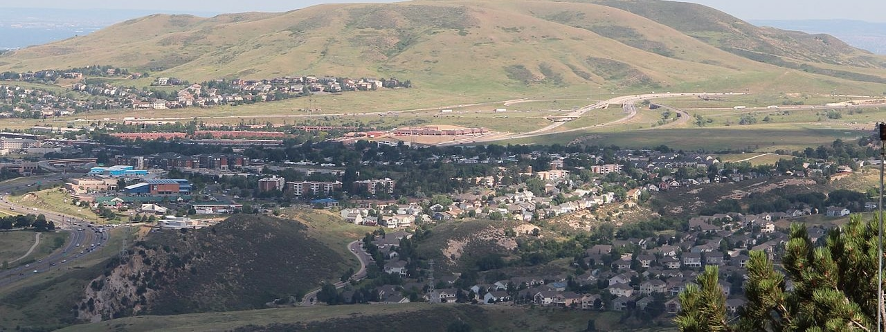 Scenic view of Lakewood, CO