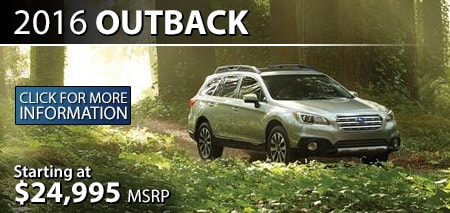 Learn more about the 2016 Subaru Outback