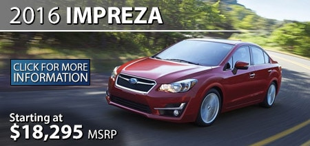 Learn more about the 2016 Subaru Impreza