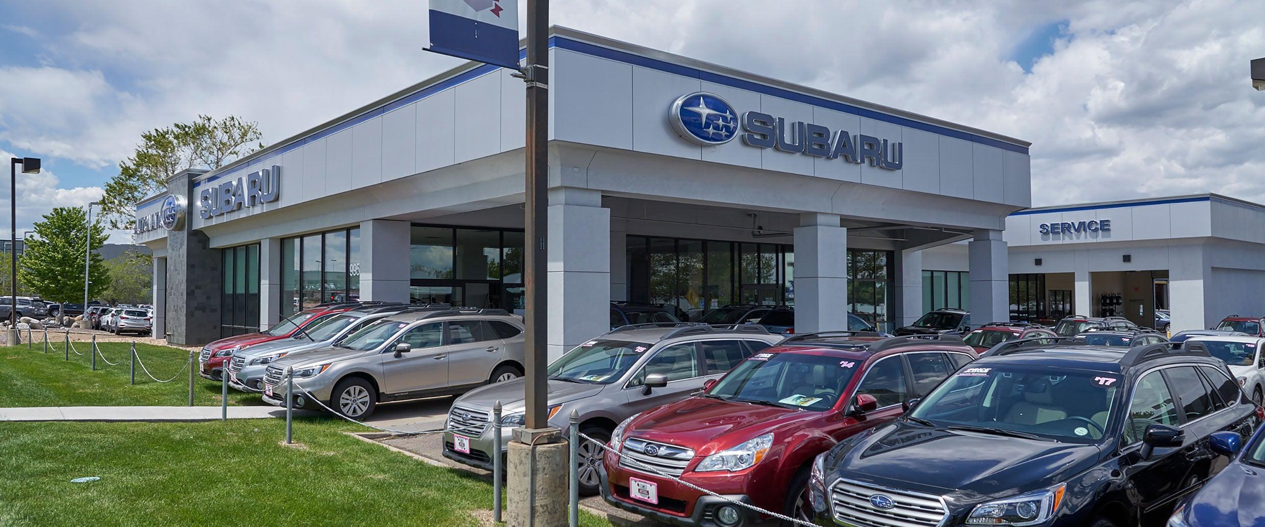 Autonation Subaru Arapahoe New Dealership In Centennial Co Joy Long Van Electrical Fuse Box Welcome