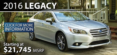 Learn more about the 2016 Subaru Legacy