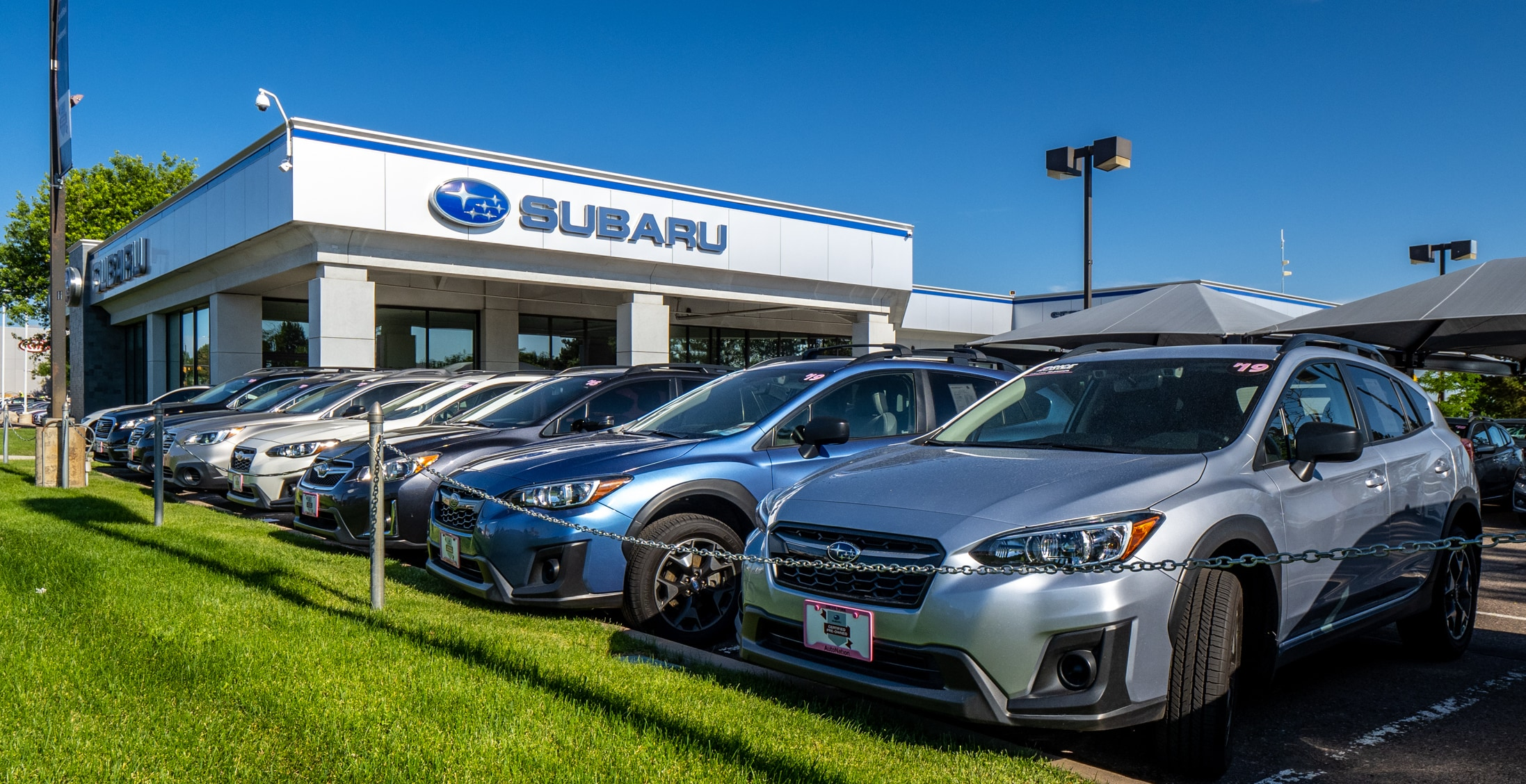 Exterior view of AutoNation Subaru Arapahoe