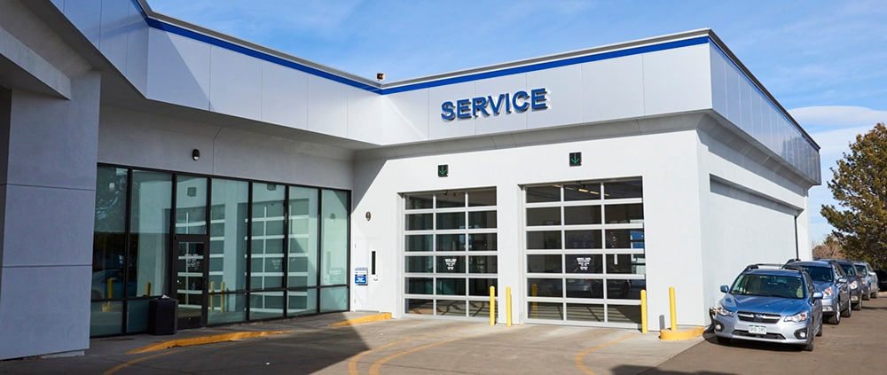 AutoNation Subaru Arapahoe Service Center Exterior Photo
