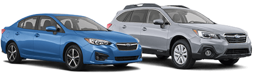 Subaru vehicles