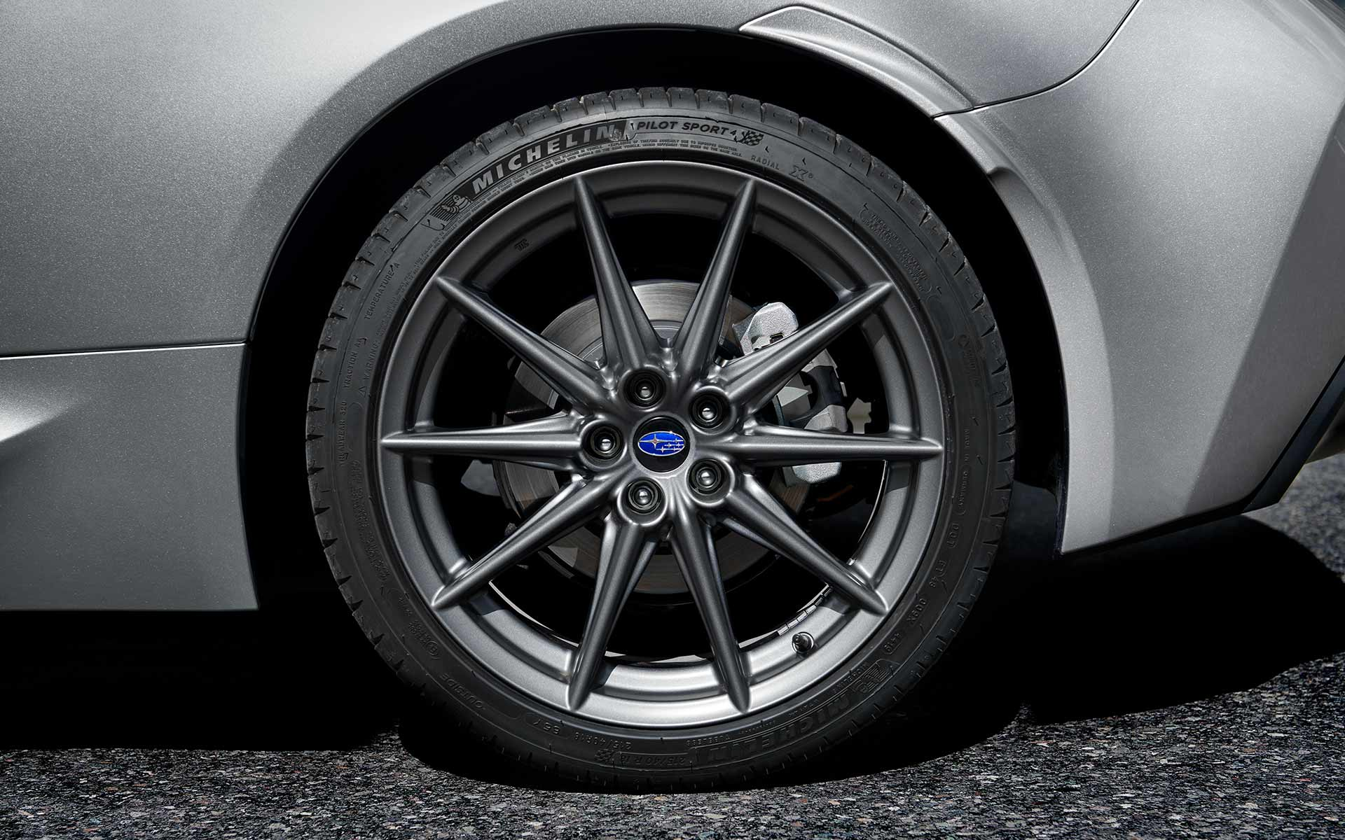 2022 Subaru BRZ wheels and tires