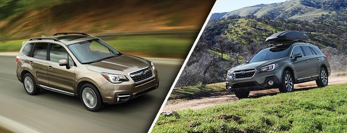2018 Subaru Outback vs. 2018 Subaru Forester Spokane ...