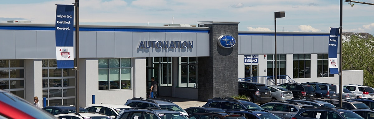 Autonation Subaru Dealer >> Subaru Dealer Near Denver Autonation Subaru West