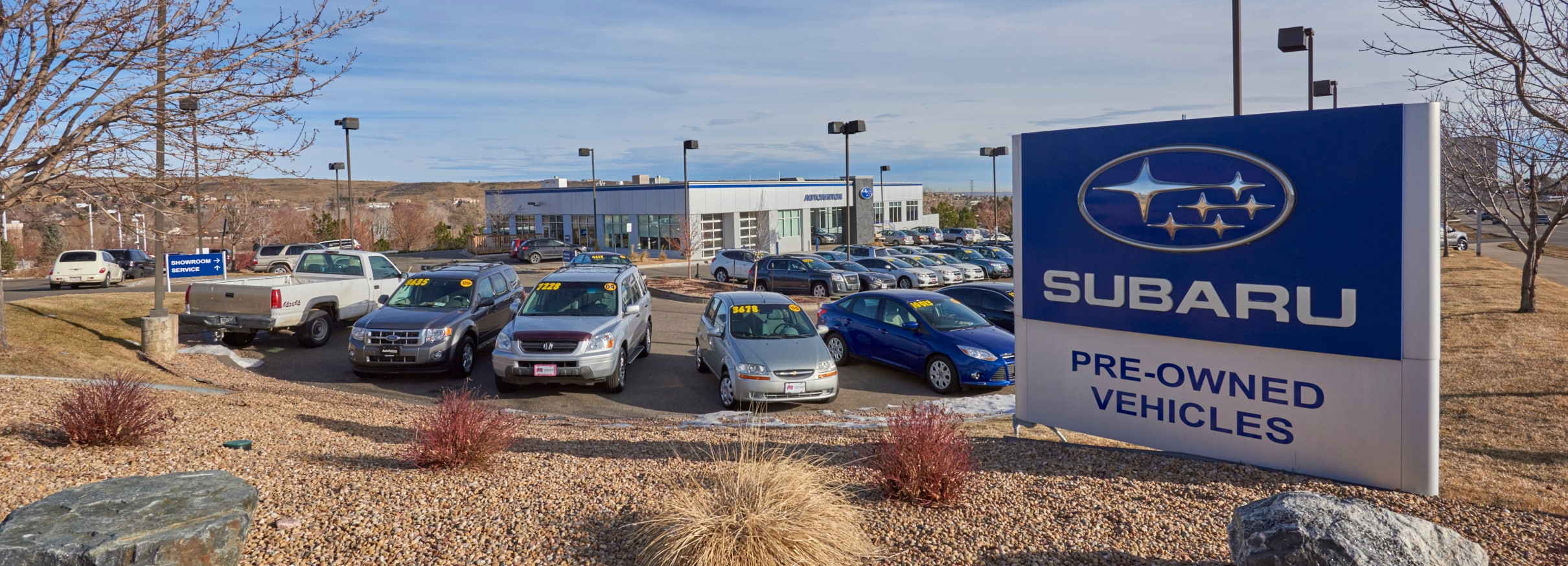 AutoNation Subaru West Dealership Exterior