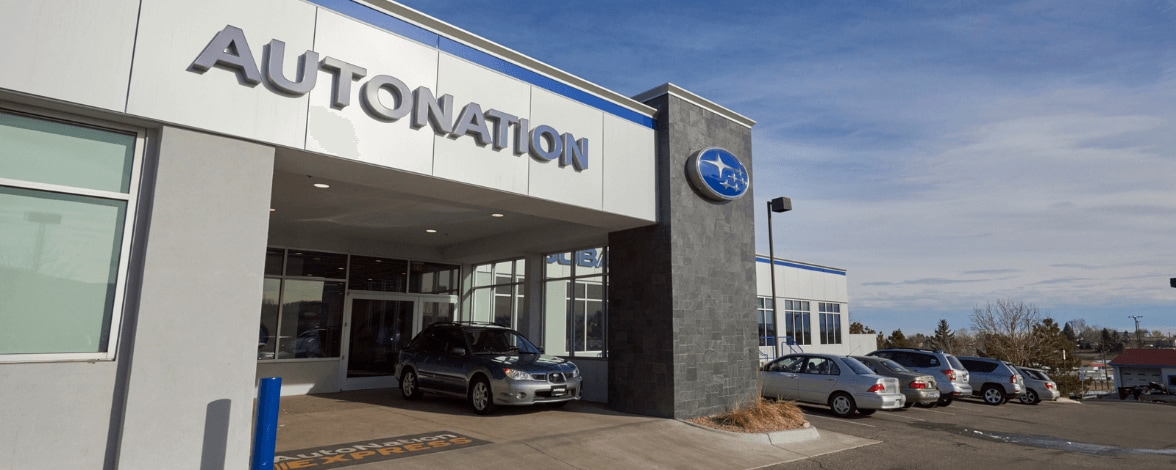 Exterior view of AutoNation Subaru West