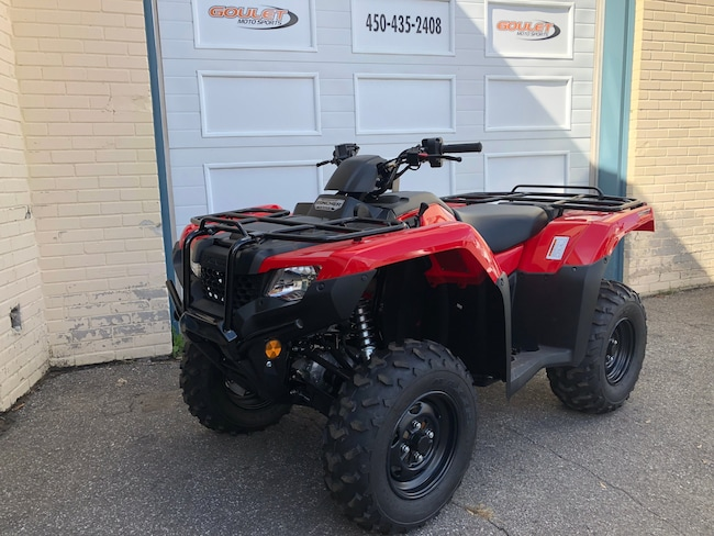 2018 HONDA TRX420FA6 Fourtrax IRS Honda***VENDU**SOLD**