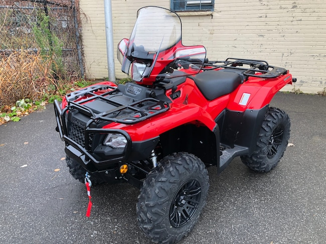 New 2018 HONDA TRX500FA6G Rubicon DCT IRS EPS For Sale at Groupe