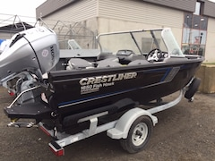 2017 CRESTLINER Fish Hawk 1650 WT Honda 90 hp