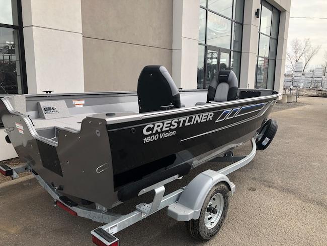 2019 CRESTLINER Vision 1600 Tiller 2019