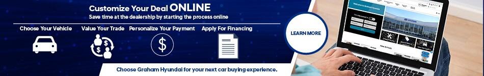 Graham Hyundai Digital Retailing - April