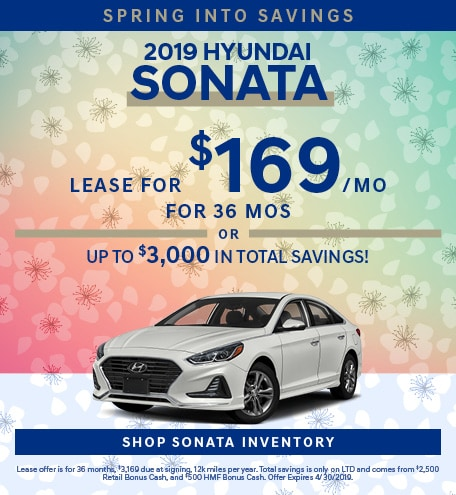 April 2019 Hyundai Sonata