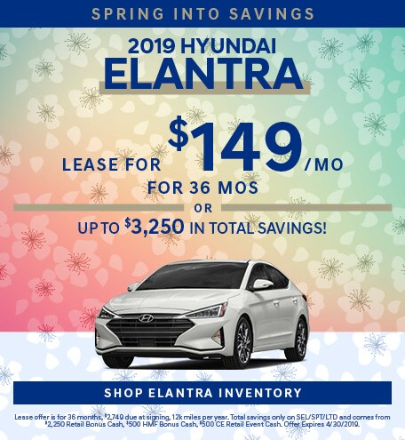April 2019 Hyundai Elantra Lease