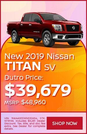 New 2019 Nissan Titan SV - July