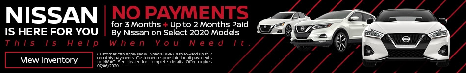 Nissan 3+2 Deferred Payments - June
