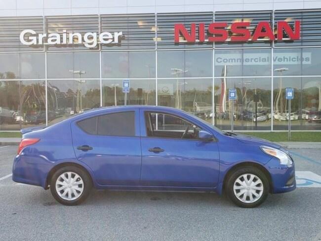 Used 2017 Nissan Versa 1.6 S+ Sedan for sale in Savannah, GA