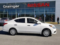 Bargain used vehicles 2018 Nissan Versa 1.6 S Sedan for sale near you in Savannah, GA