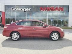 Bargain used vehicles 2015 Nissan Sentra SL Sedan for sale near you in Savannah, GA
