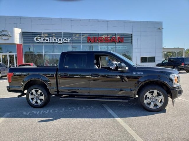Used 2018 Ford F-150 Lariat 2WD Supercrew 5.5 Box Truck SuperCrew Cab for sale in Savannah, GA