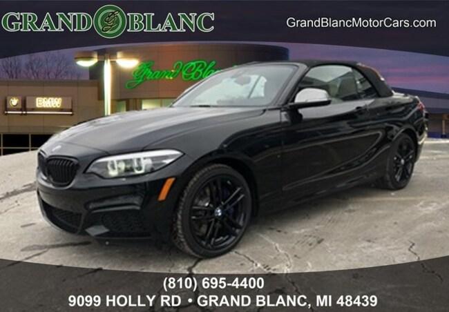 New 2019 BMW 2 Series M240i Xdrive Convertible For Sale/Lease Grand Blanc, MI