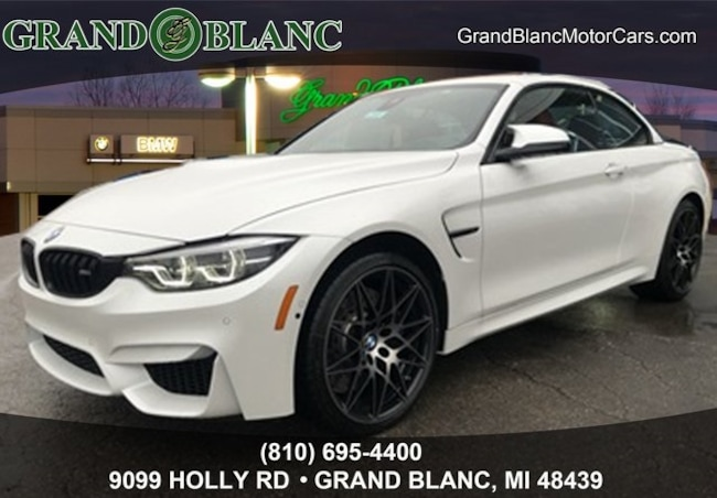 New 2019 BMW M4 Base Convertible For Sale/Lease Grand Blanc, MI