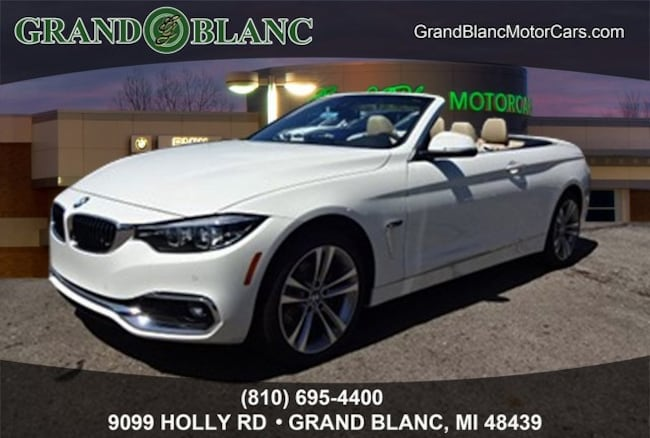 New 2019 BMW 4 Series 430i Xdrive Convertible For Sale/Lease Grand Blanc, MI