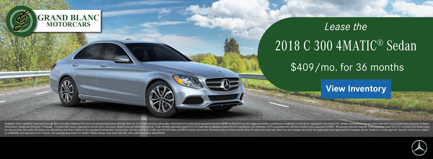 Mercedes Benz Dealership In Grand Blanc Michigan 48439