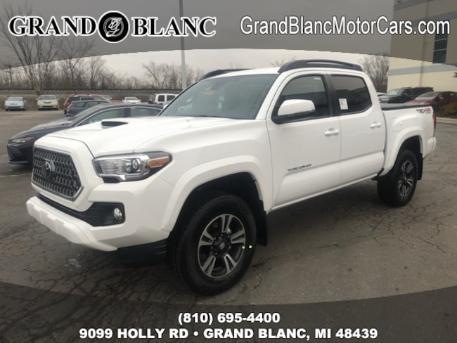 New 2019 Toyota Tacoma TRD Sport Truck Double Cab For Sale/Lease Grand Blanc, MI