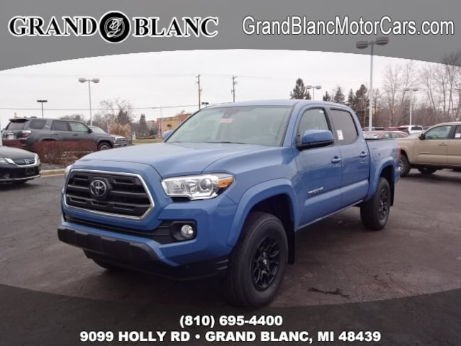 New 2019 Toyota Tacoma SR5 Truck Double Cab For Sale/Lease Grand Blanc, MI