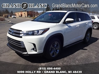 New 2019 Toyota Highlander Hybrid Limited Platinum SUV