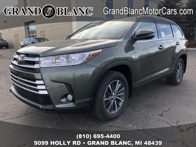 New 2019 Toyota Highlander XLE SUV For Sale/Lease Grand Blanc, MI
