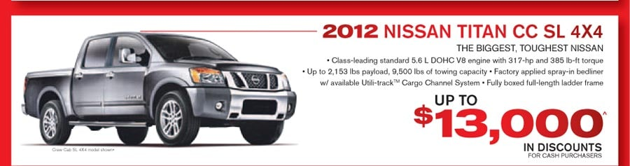 Nissan Employee Pricing Event in Grande Prairie - Up to