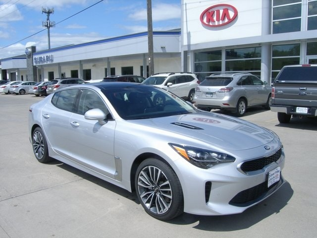 Featured new Kia vehicles 2018 Kia Stinger Premium Sedan for sale near you in Grand Forks, ND