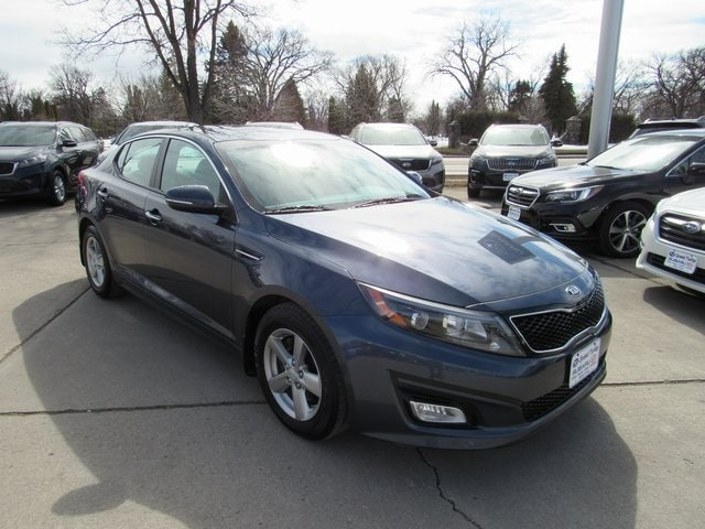 Featured used cars, trucks, and SUVs 2015 Kia Optima LX Sedan for sale near you in Grand Forks, ND