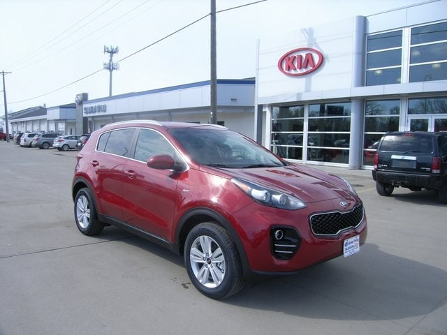 Featured new Kia vehicles 2018 Kia Sportage LX SUV for sale near you in Grand Forks, ND