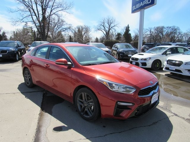 Featured new Kia vehicles 2019 Kia Forte EX Sedan for sale near you in Grand Forks, ND