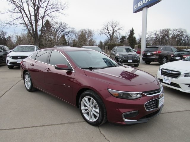 Featured used cars, trucks, and SUVs 2016 Chevrolet Malibu LT 1LT Sedan for sale near you in Grand Forks, ND
