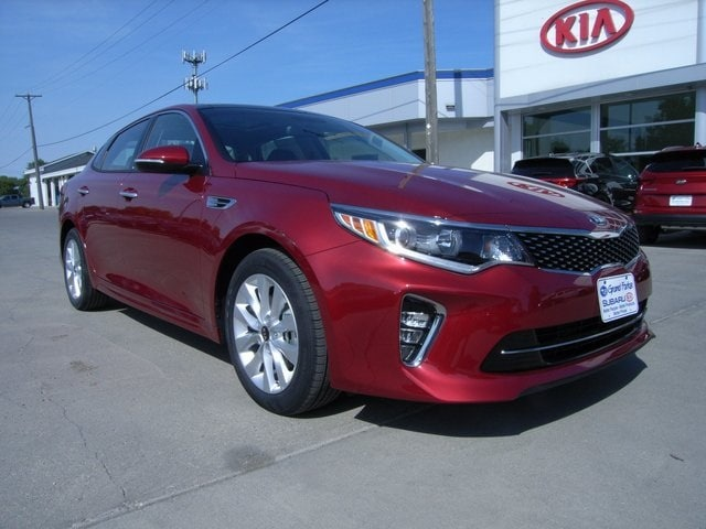 Featured new Kia vehicles 2018 Kia Optima S Sedan for sale near you in Grand Forks, ND