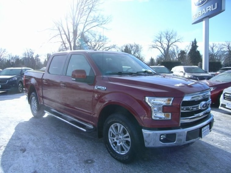Used 2015 Ford F-150 Lariat Truck in Grand Forks