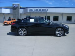 New 2018 Subaru Legacy 2.5i Limited with EyeSight, High Beam Assist, Navigation, Reverse Auto Braking, LED Headlights, Steering Responsive Headlights, and Starlink Sedan 4S3BNAN67J3043537 in Grand Forks