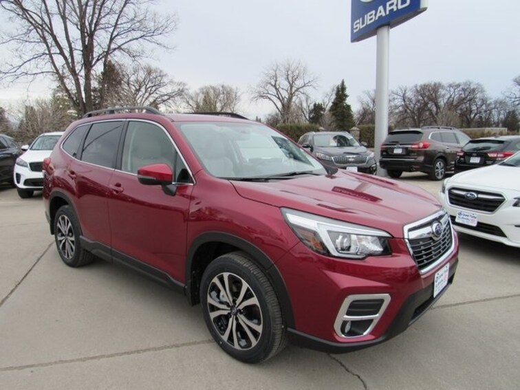 New 2019 Subaru Forester Limited SUV in Grand Forks