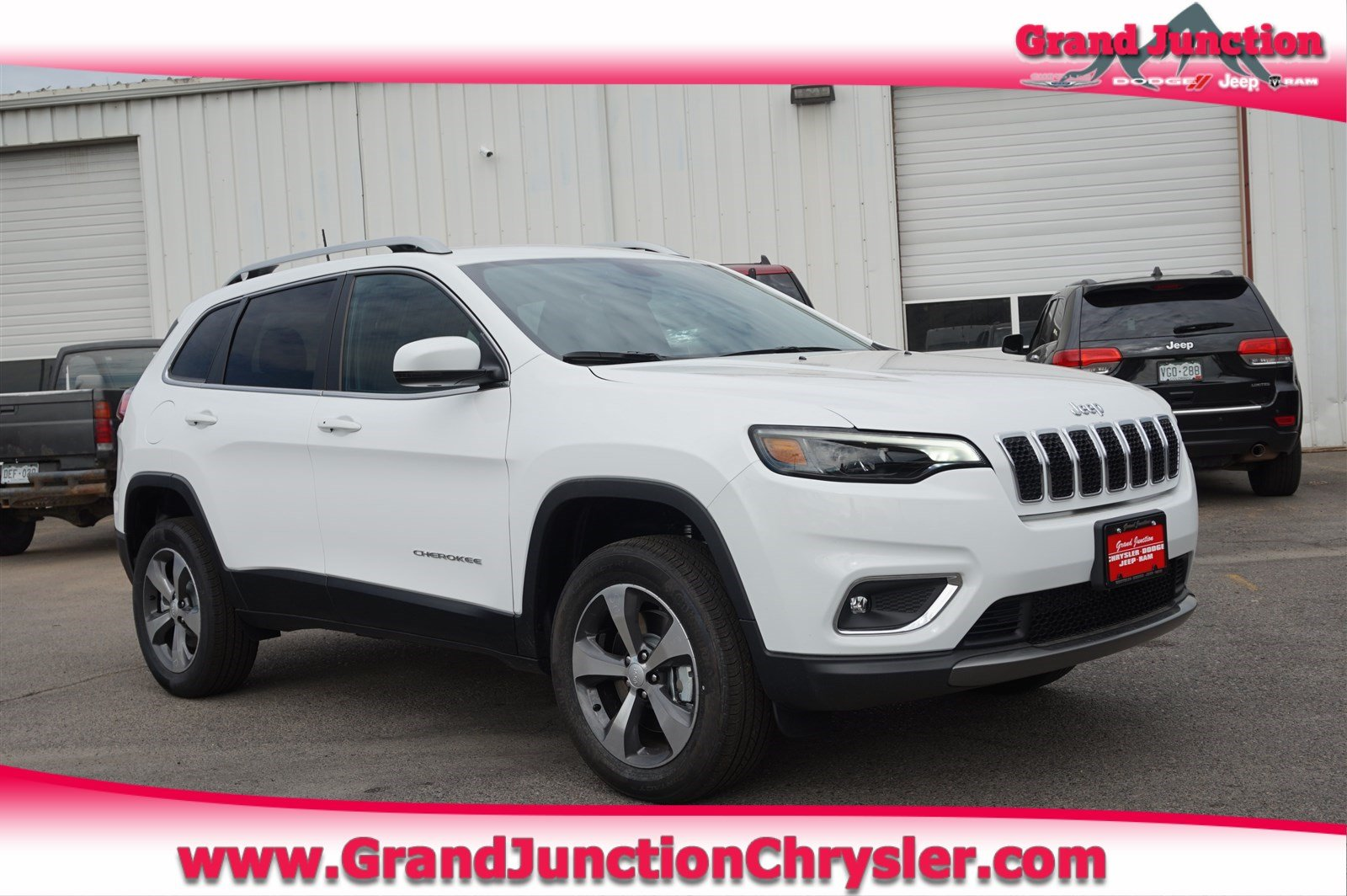 Featured new Chrysler, Dodge, Jeep, and Ram vehicles 2019 Jeep Cherokee LIMITED 4X4 Sport Utility for sale near you in Grand Junction, CO