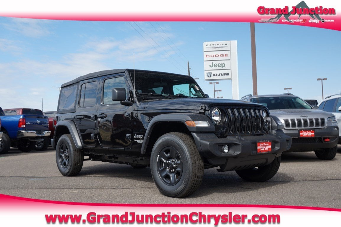 Featured new and used vehicles 2018 Jeep Wrangler UNLIMITED SPORT 4X4 Sport Utility for sale near you in Grand Junction, CO