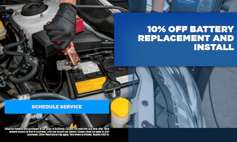 September | 10% Off Battery Replacement & Install