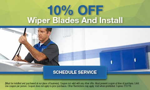 10% Off Wiper Blades and Install